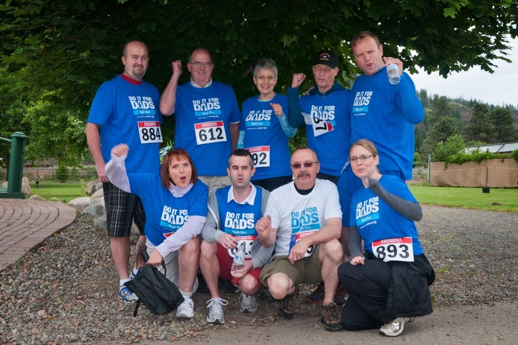 Prostate Cancer Walk 2014